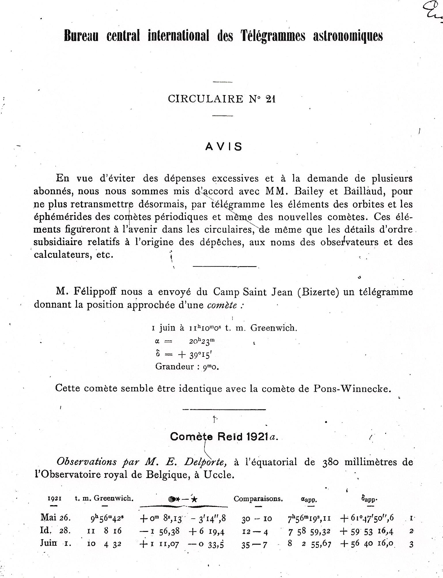 international astronomical union circulars various older iaucs