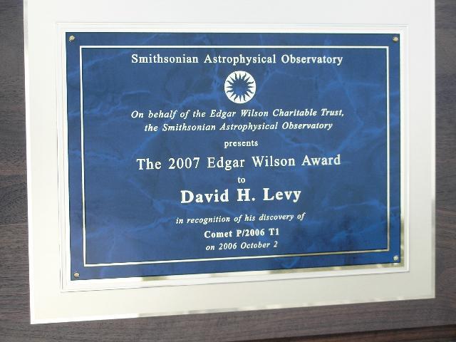 The Edgar Wilson Award